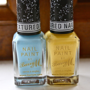 NOTD :: BarryM Textured Nail Effects