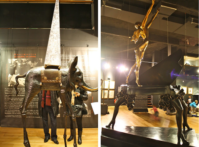 dali sculptures