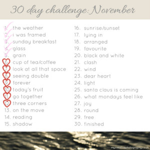 November Photo Challenge #2