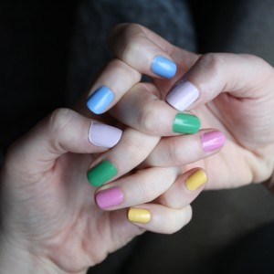 NOTD :: All the Colours