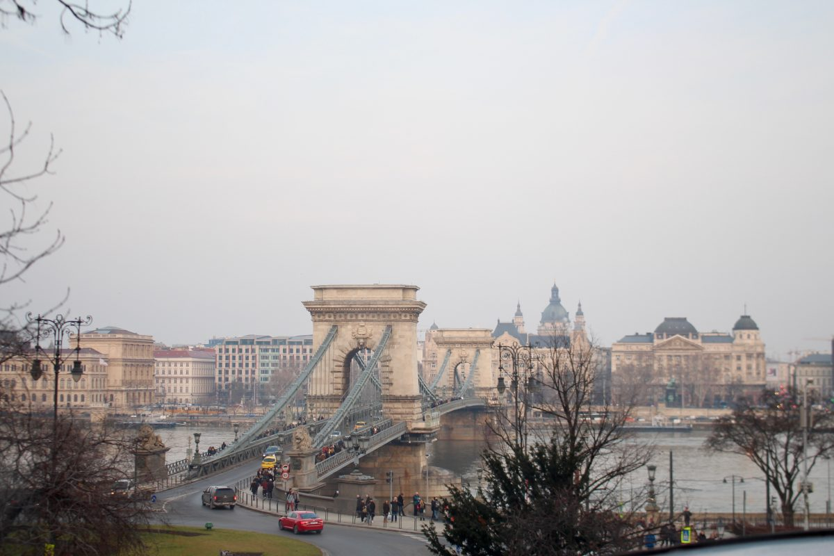 Budapest and Danube