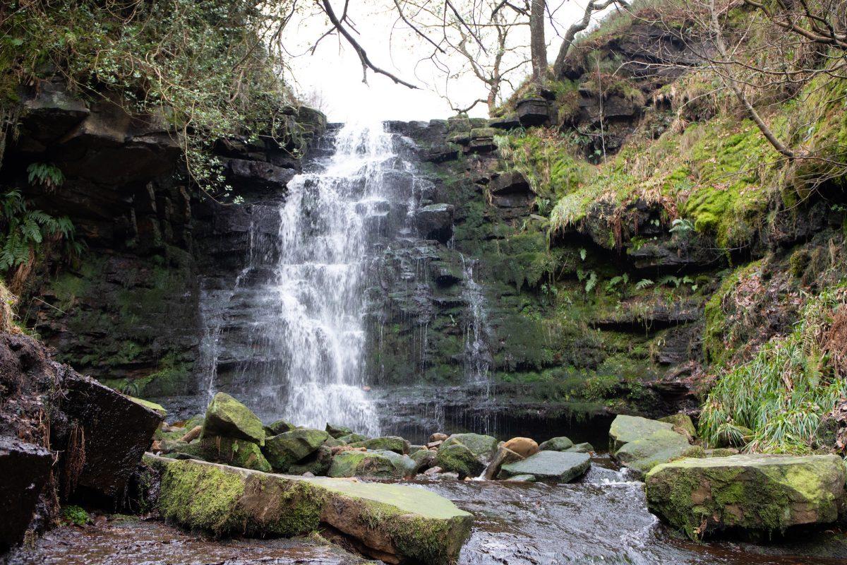 little black clough waterfall